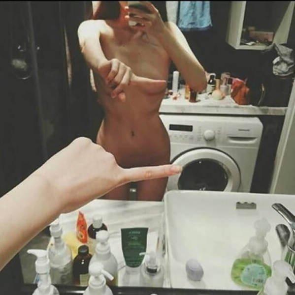 1 Finger Selfie Challenge