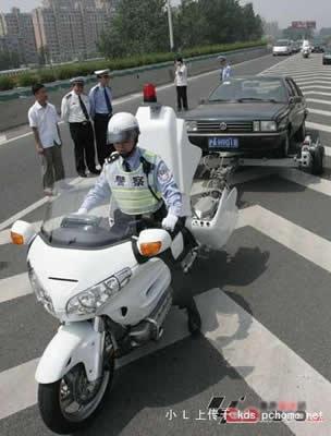 Abschlepp - Motorrad