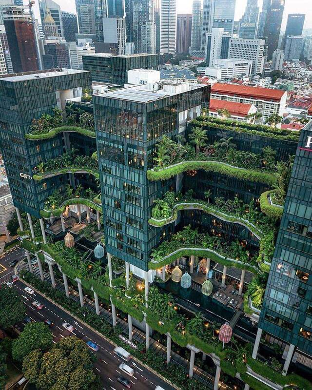 Beeindruckende Architektur