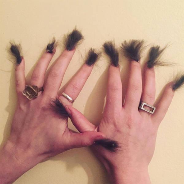 Behaarte Fingernägel? NEIN DANKE!