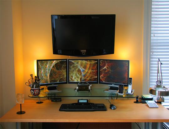 coole Bildschirmarbeiter - Arbeitsplätze