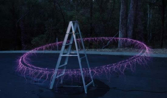 coole Effekte mit Teslaspule