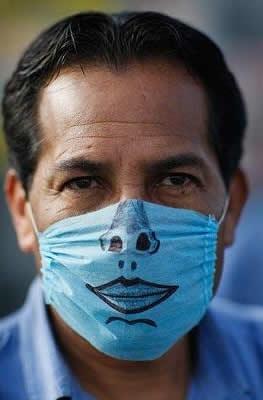 coole Schutzmaske