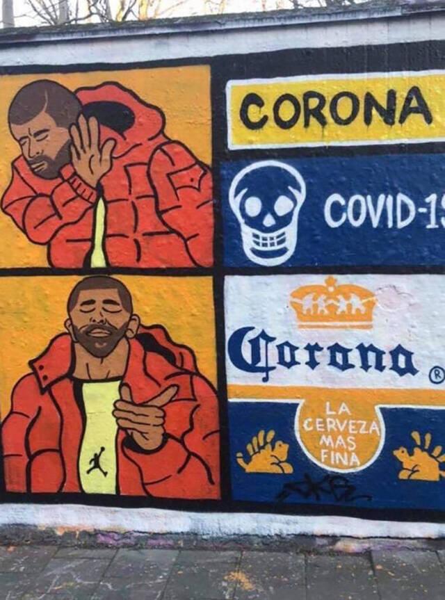 Coronavirus - Streetart