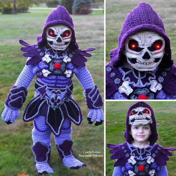 gehäkelte Halloween - Kostüme