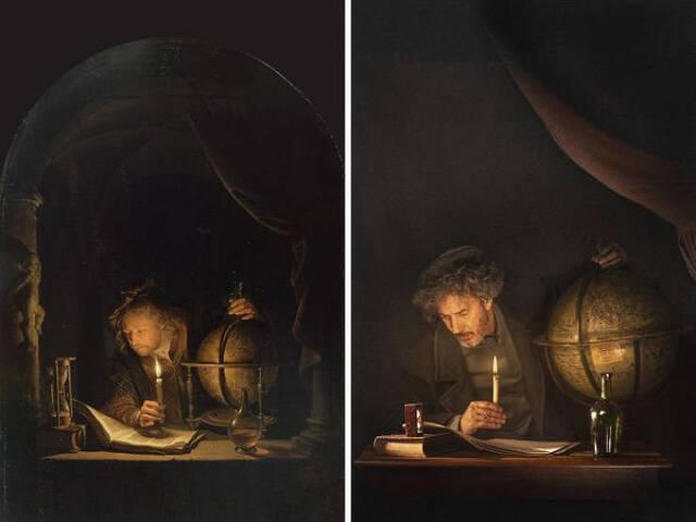 Gemälde nachgestellt #2