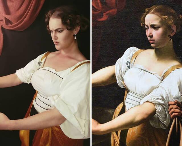 Gemälde nachgestellt #3
