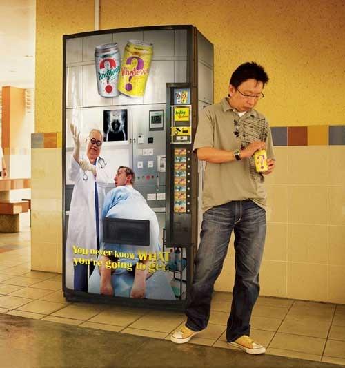coole Getränkeautomaten