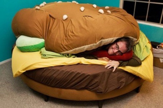Hamburger - Bett