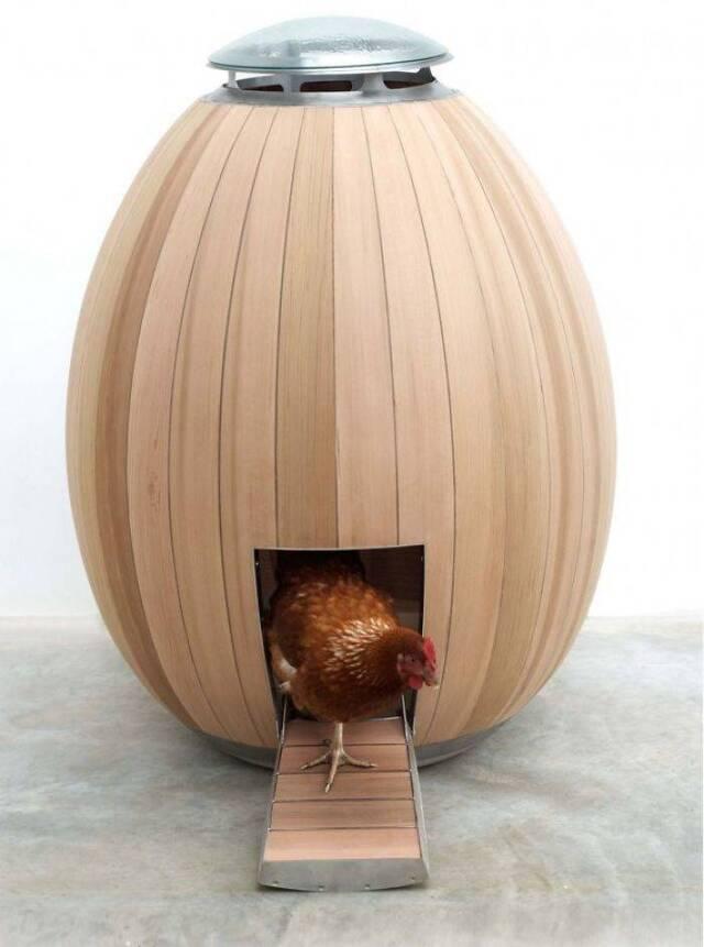 Kreative Hühnerställe