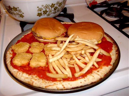 Mc Donalds - Pizza