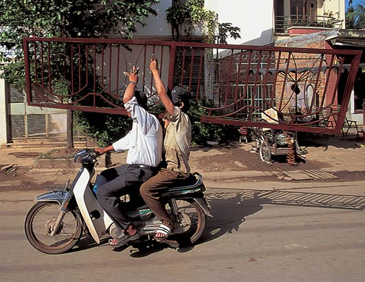 Motorrad - Transporte