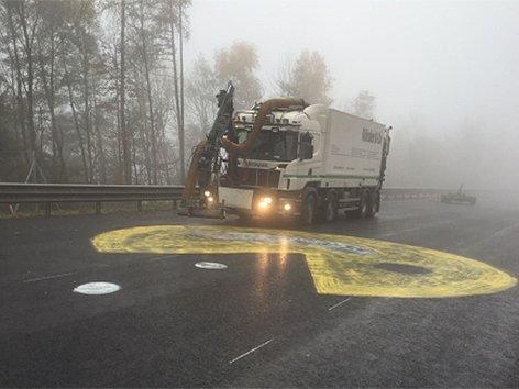 Pac-Man auf der Autobahn