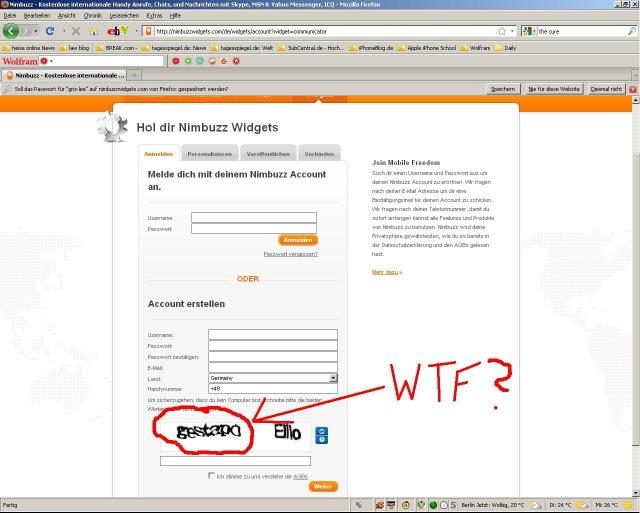 Bildschirmarbeiter - Picdump 21.08.2009