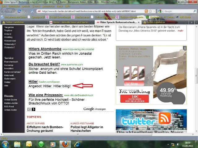 Bildschirmarbeiter - Picdump 17.09.2010