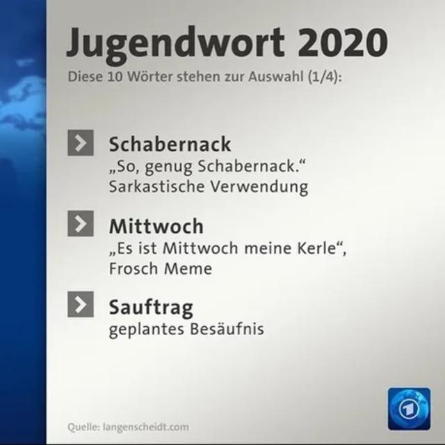 Nachschlag - Bildschirmarbeiter - Picdump KW35 2020