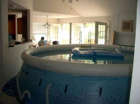 Pool Im Wohnzimmer Bilder Auf Bildschirmarbeiter Com