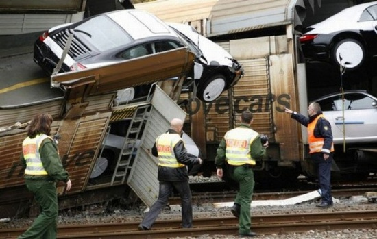 Porsche Crash