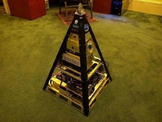Pyramide - Casemod