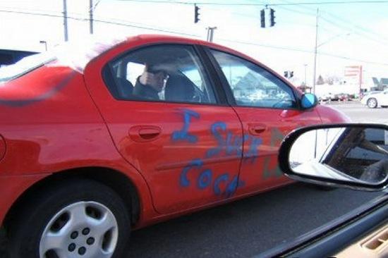 Rache am Auto