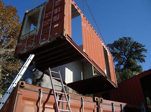 Recycling - Haus - Bilder auf bildschirmarbeiter.com