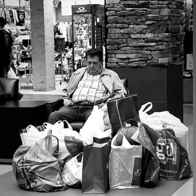 Schatz, gehen wir mal wieder shoppen?