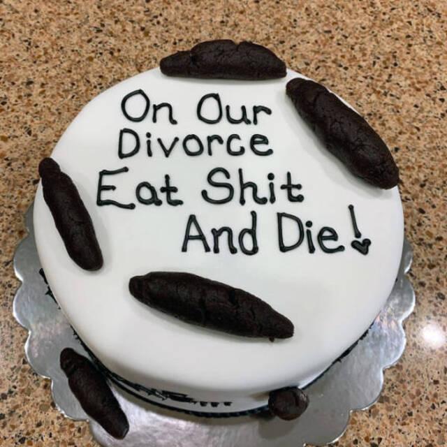 Scheidungskuchen