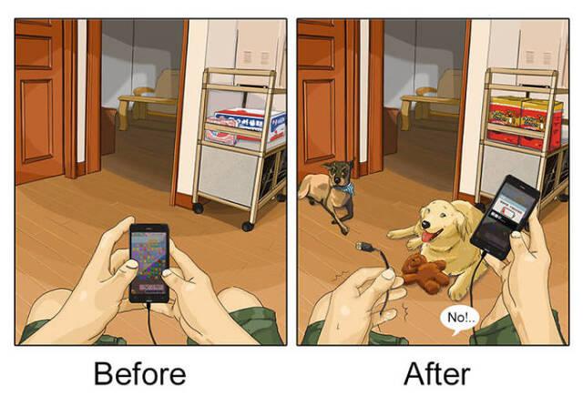 Wenn Du Dir endlich ein Haustier holst