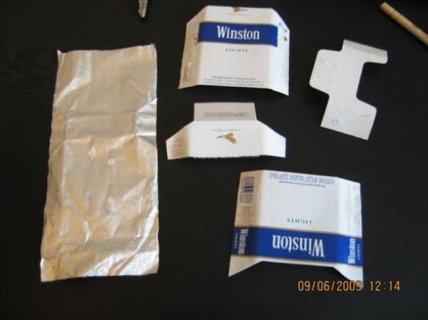 Zigarettenpackung - Origami