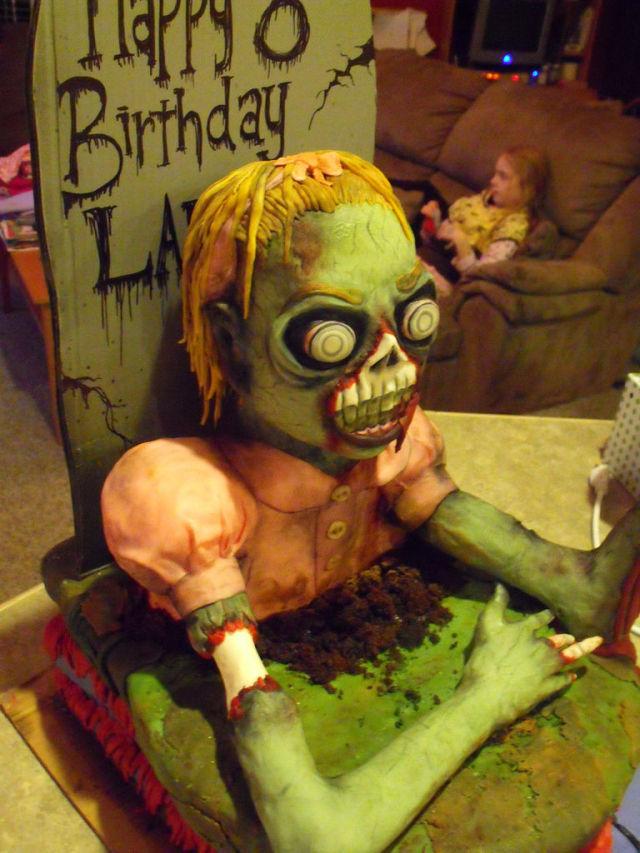 Zombie - Kuchen