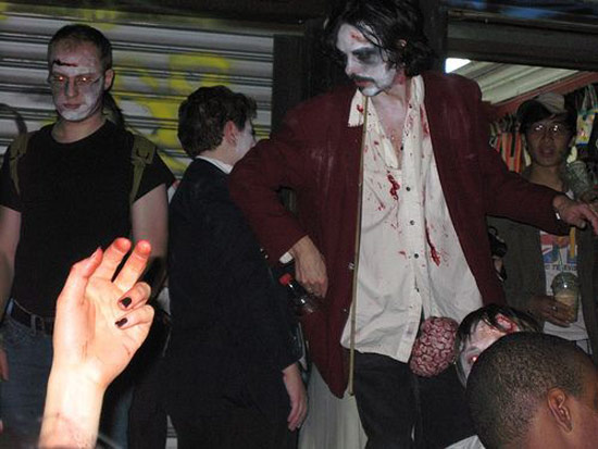 Zombie Walk in New York