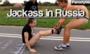 Jackass in Russia