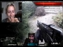 Real Life First Person Shooter on Chatroulette