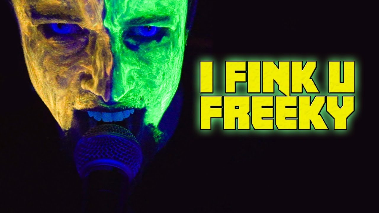 The Initials BB: I Fink U Freeky by DIe Antwoord
