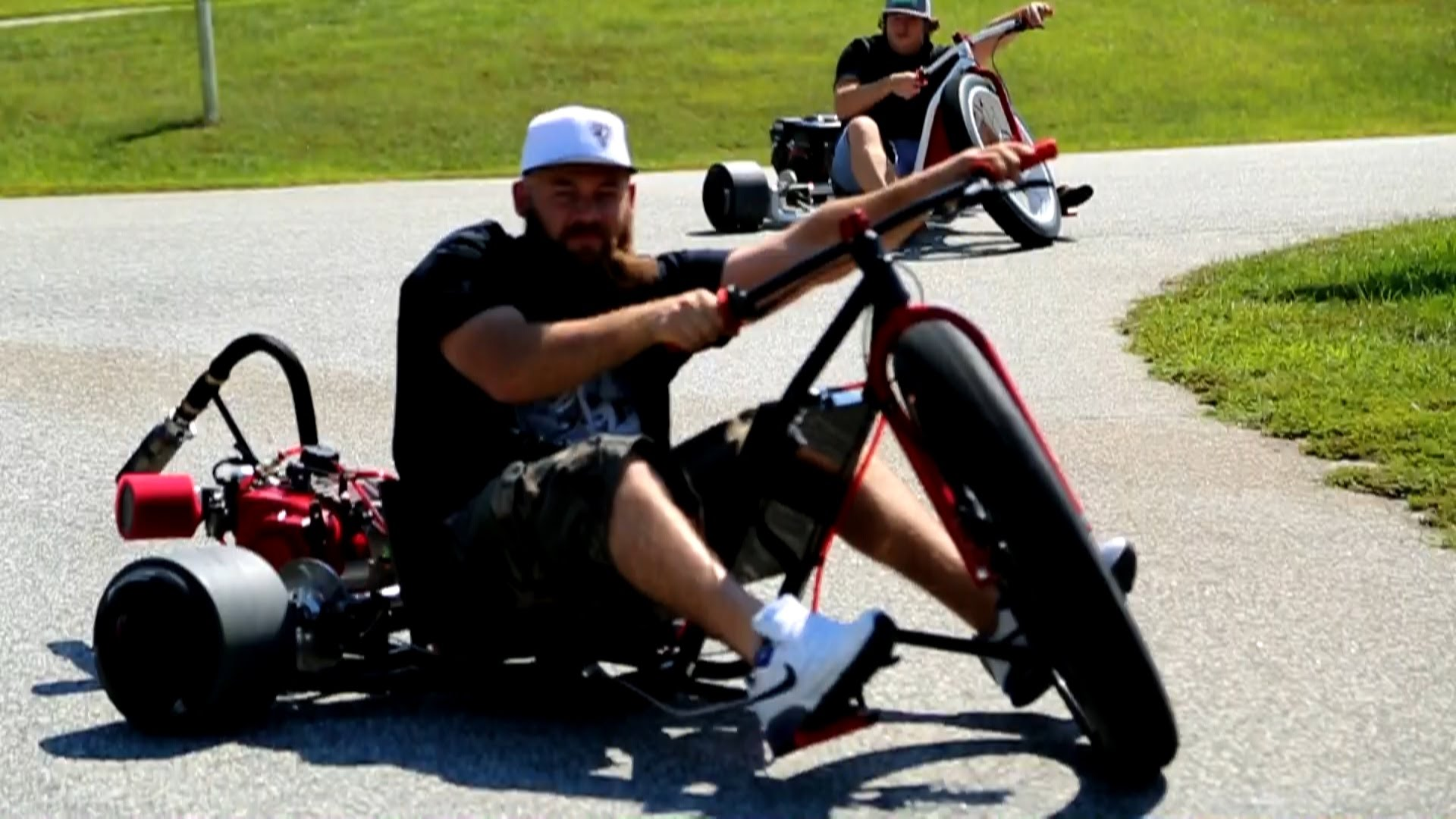 motorized drift trike video auf. Black Bedroom Furniture Sets. Home Design Ideas